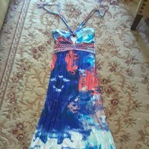 Cynthia Rowley Maxi Dress Size Large